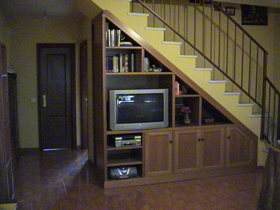 Foto Mueble bajo Escalera de Ebanistera  Carpintera