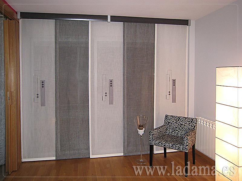Foto Paneles Japoneses de La Dama Decoracin 173148