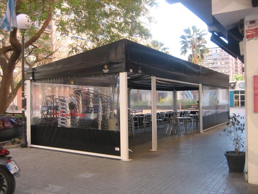 Foto Toldo Fijo para Terraza de Barrestaurante de JDG