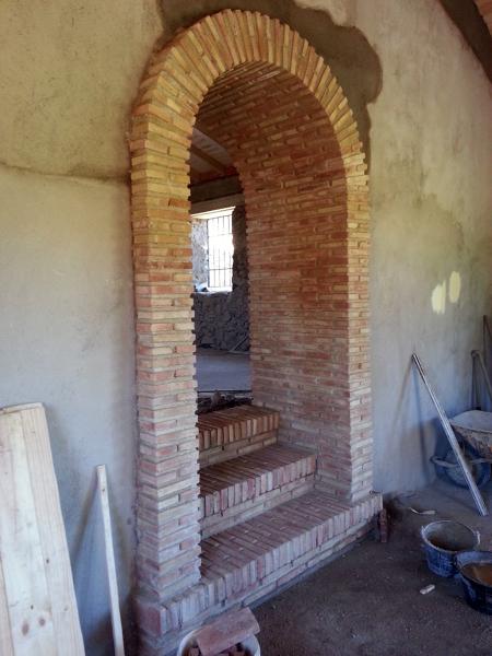 Foto Arco de Medio Punto con Ladrillo de Obra 360