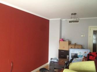 Foto: Combinacion de Color Rojo Vino y Gris Perla de Álvarez Pintura en General #1353463 Habitissimo