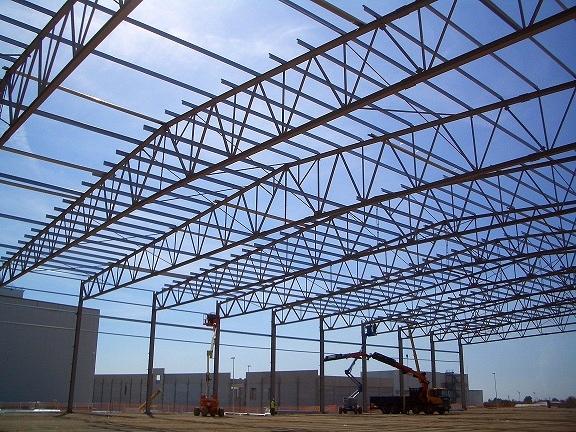 Foto Nave Industrial Correas Cerchas Metlicas de IAG
