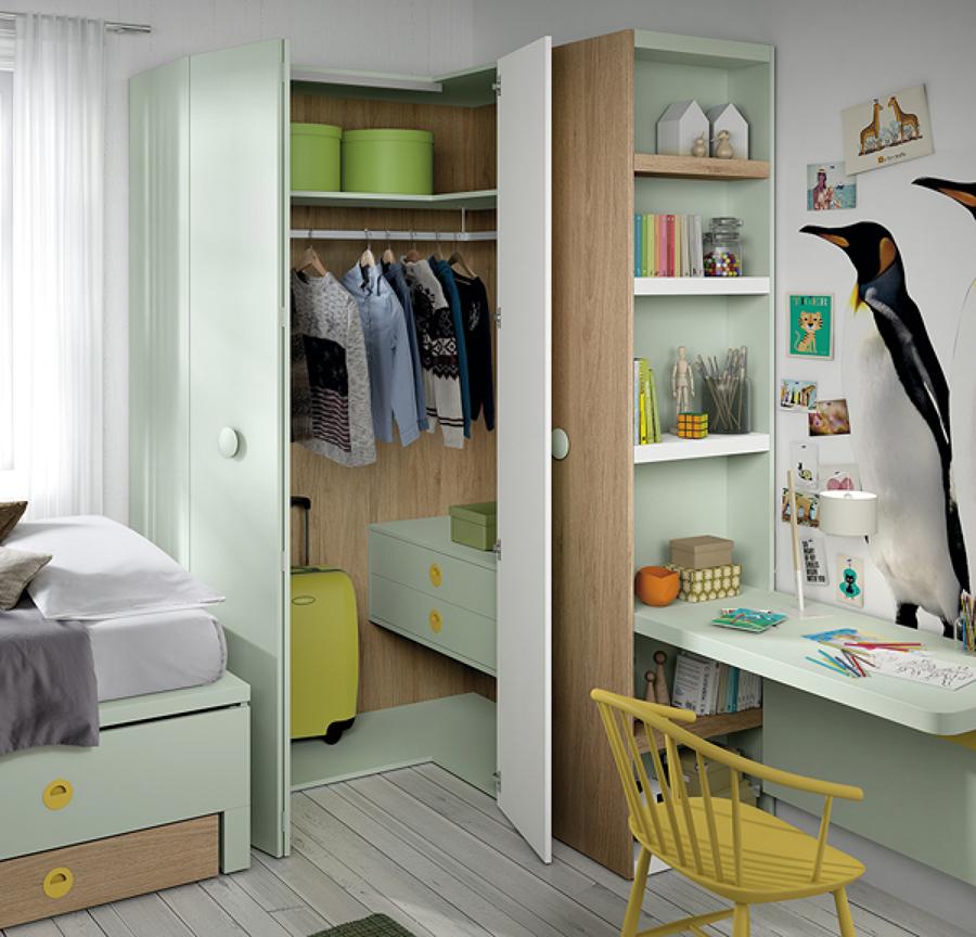 Dormitorios Juveniles  Ideas Muebles