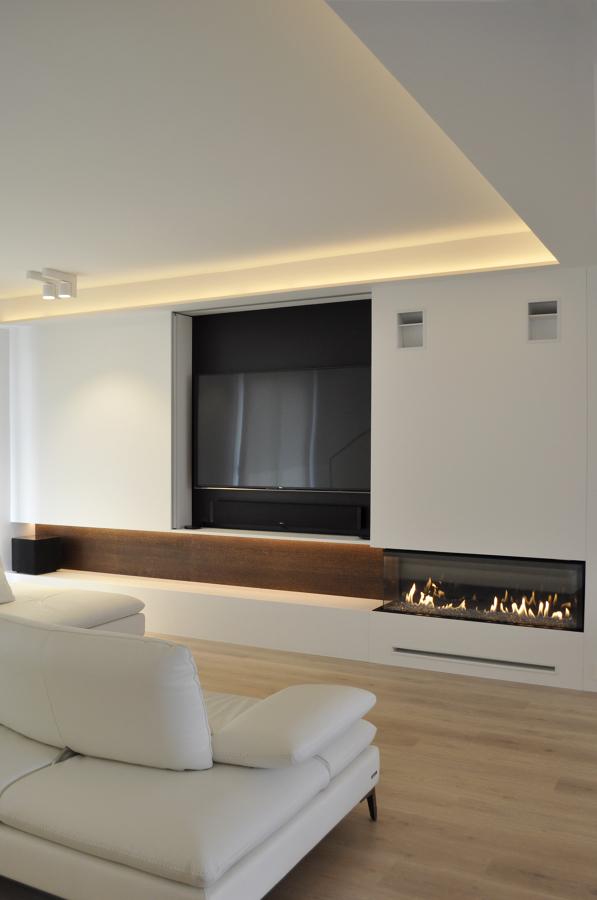 Foto Chimenea a Gas del Salon de RARDO  Architects