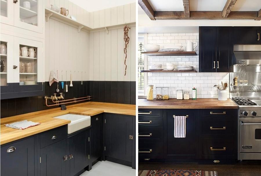 Blanco y Negro el Yin y el Yang de las Cocinas  Ideas