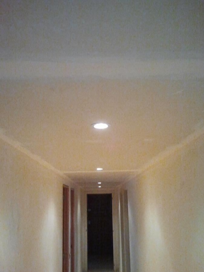 Foto Colocacin Luces Led en Techo Pladur Pasillo de