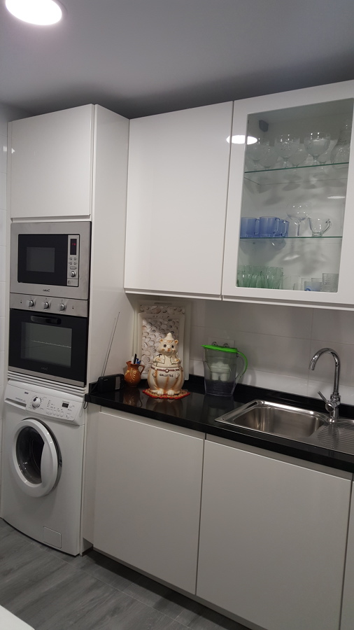 Foto Columna Horno Micro Lavadora de Cocinas Y Reformas