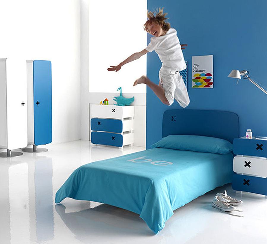 Foto Dormitorio Infantil Azul de Arquitectos Madrid 20