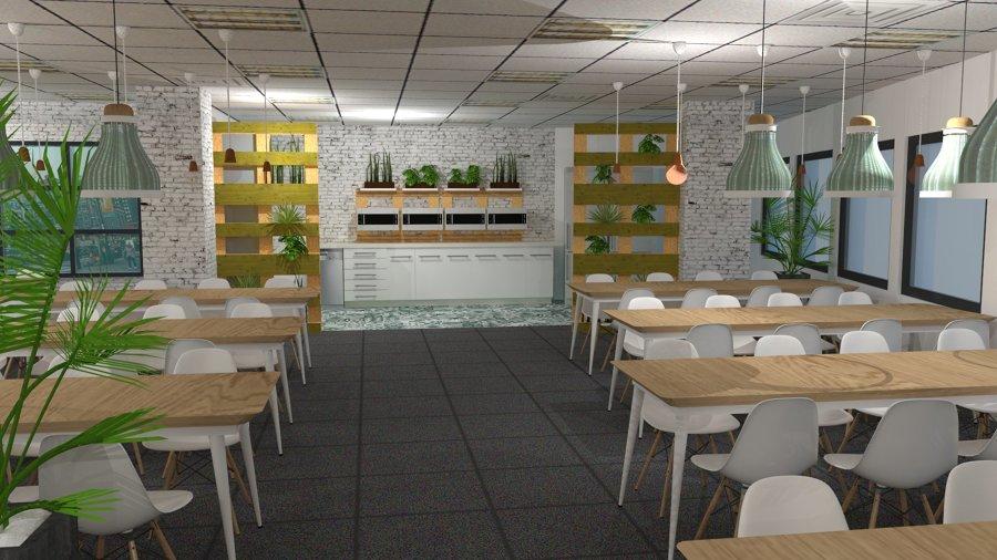 Foto Proyecto Comedor Oficinas Kimia de Arte 4