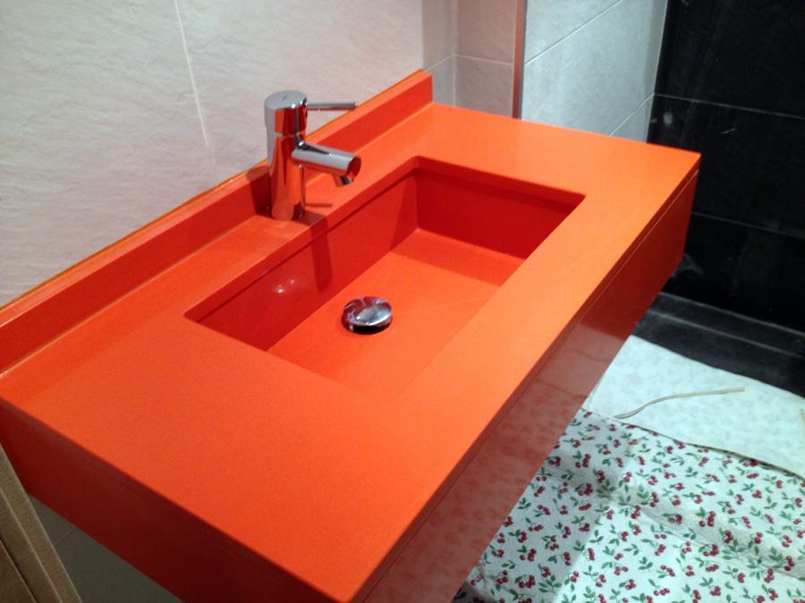 Foto Silestone Mod Naranja Cool de Dgrmarbressilestone