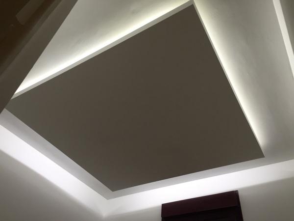 Foto Falso Techo de Pladur con Luz Indirecta de Led de