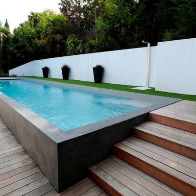 Piscina o estilo aljibe para terrazaatico  Cceres