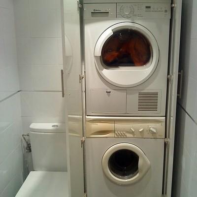 Hacer mueble para lavadora y secadora  Vigo Pontevedra  Habitissimo