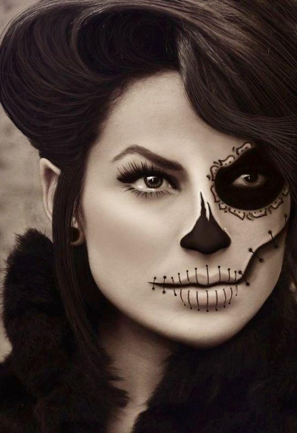 idea de maquillaje de halloween 9  Handspire