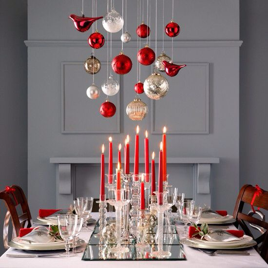 And Decoration Red White Ideas Christmas 2013
