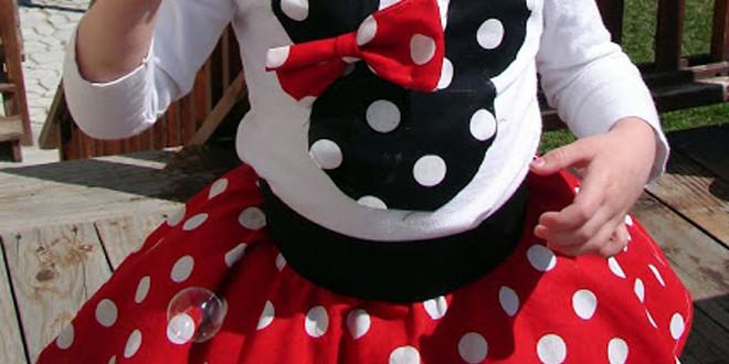Moldes de traje de Minnie  Imagui