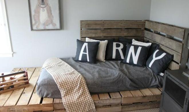 Decoracin de dormitorios con palets ideas  Handspire