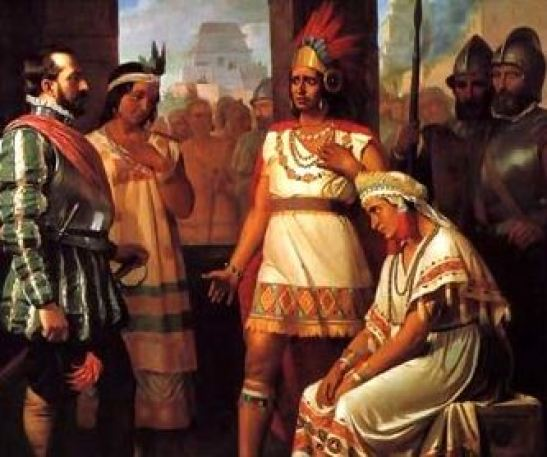 13 Agosto 1521 Cuauhtémoc se rinde ante Hernán Cortés