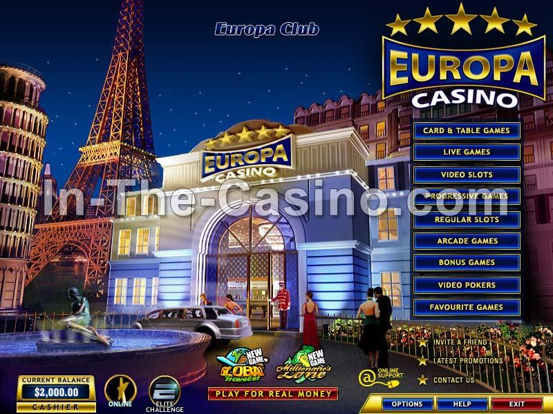 Europa Casino Online  Awareturbabit