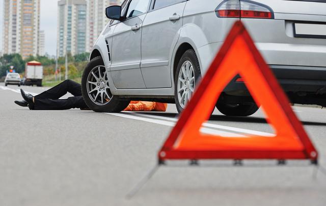 Peaton Accidente Carro