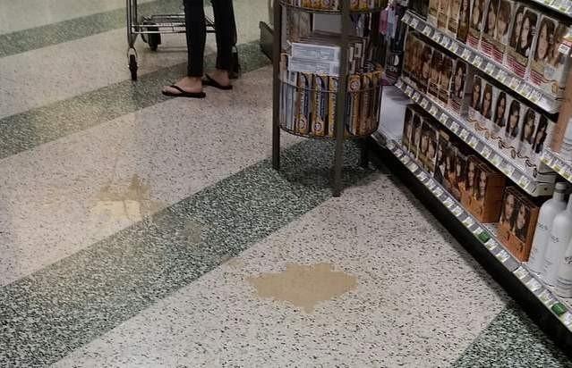 Publix supermercado piso liquido