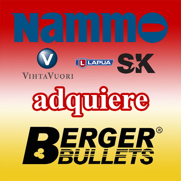 El grupo Nammo adquiere Berger Bullets