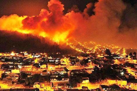 Resultado de imagen para Bolivia lamenta incendios forestales en Chile y ofrece ayuda