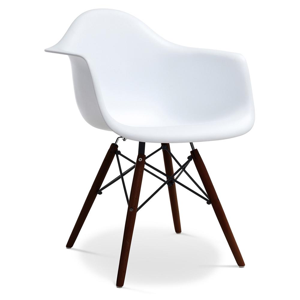Silla DAW Charles Eames Style  Polipropileno Mate