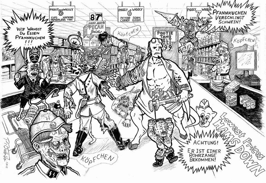 41 dibujos de Hellboy para colorear  Oh Kids  Page 1
