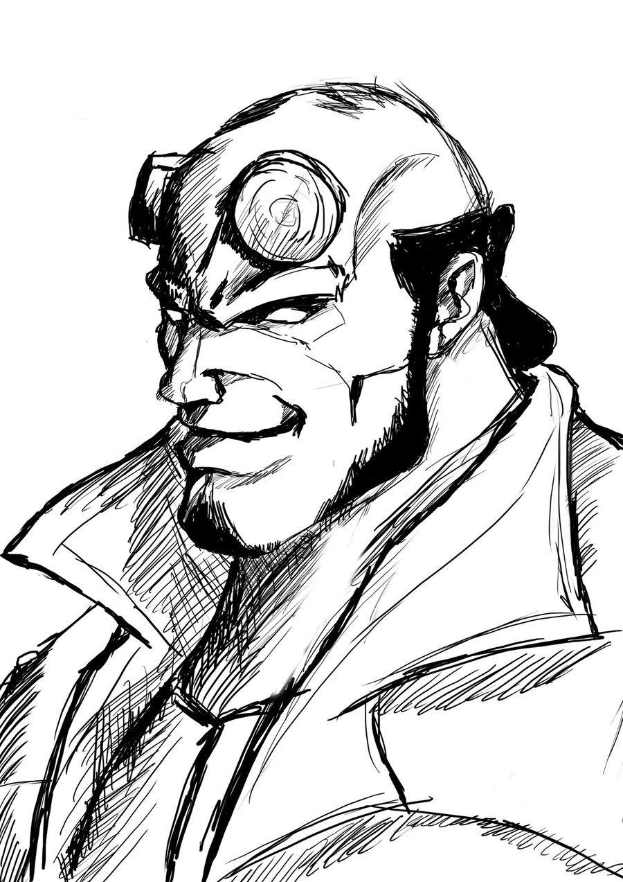 41 dibujos de Hellboy para colorear  Oh Kids  Page 2