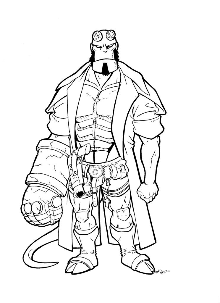 41 dibujos de Hellboy para colorear  Oh Kids  Page 3