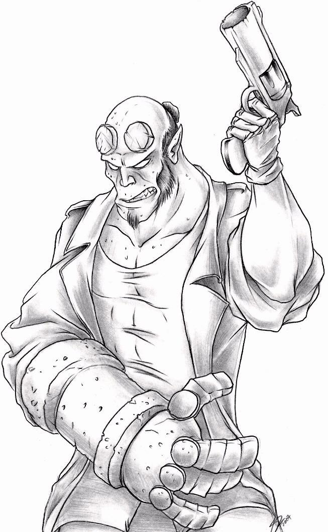 41 dibujos de Hellboy para colorear  Oh Kids  Page 4