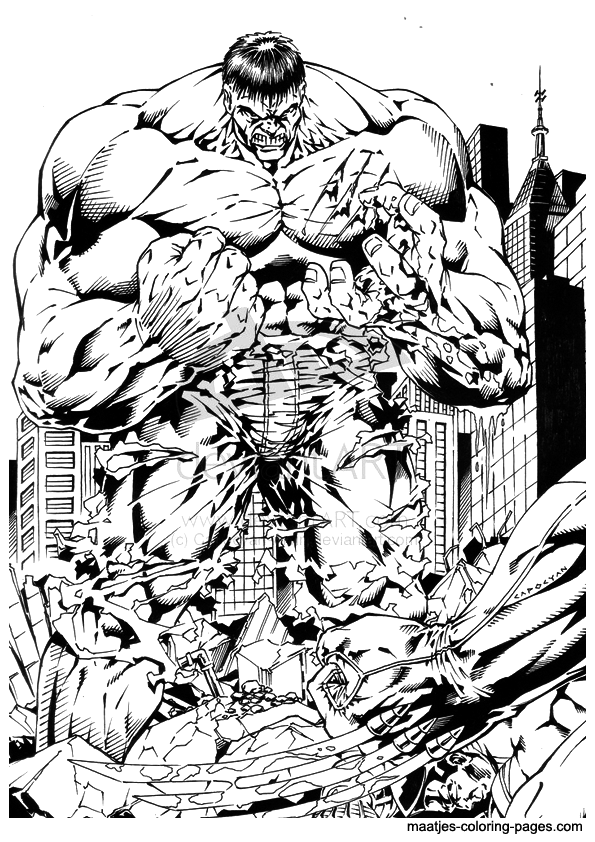 223 Dibujos De Hulk Para Colorear Oh Kids Page 20