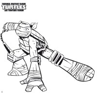 Imagenes Para Colorear Tortugas Ninja Tortuga Ninja