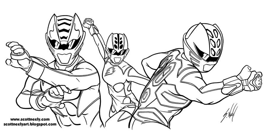 214 Dibujos De Power Rangers Para Colorear