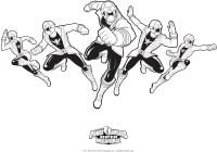 214 dibujos de Power rangers para colorear | Oh Kids | Page 10