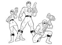 214 dibujos de Power rangers para colorear | Oh Kids | Page 17
