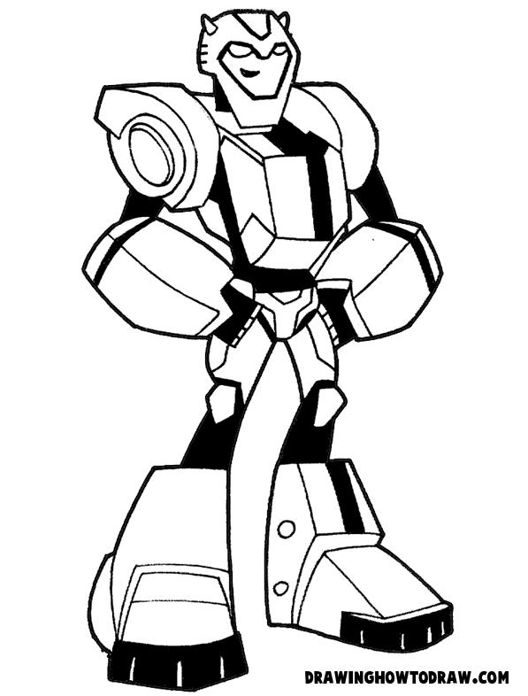 Dibujos De Transformers Para Colorear Gratis