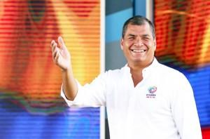 """Correa busca que su """"revolución ciudadana"""" no termine. (Facebook Rafael Correa)"""