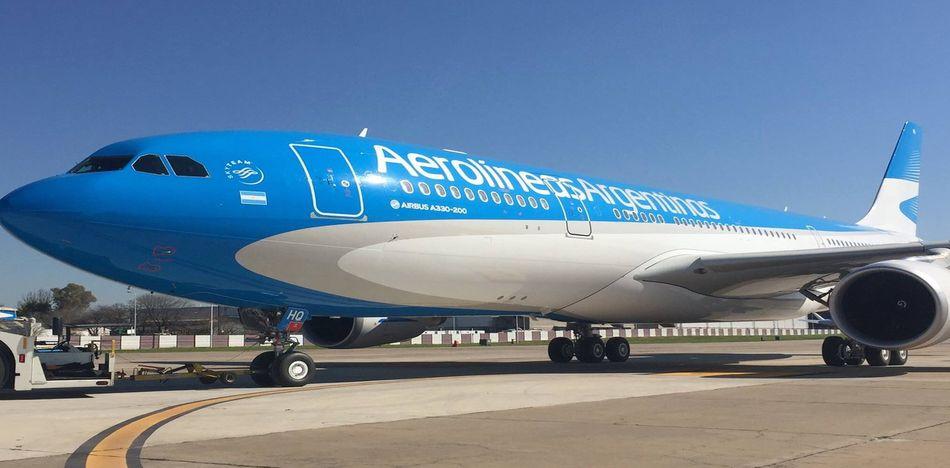 paro de Aerolíneas Argentinas