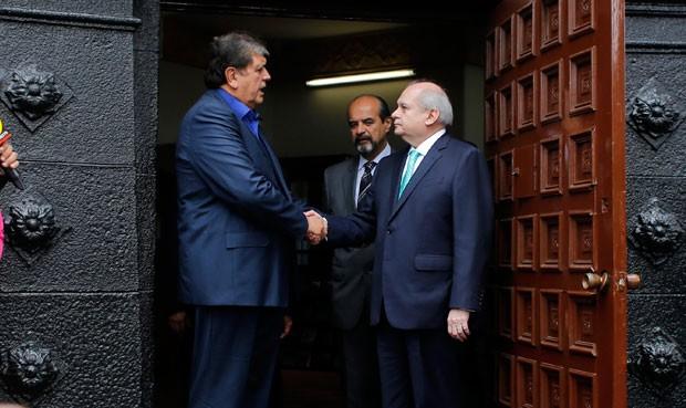 Alan García y Pedro Cateriano