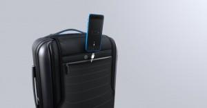 La Bluesmart tendr[a un compartimiento especial para guardar notebooks y cargar el Iphone. (Bluesmart)