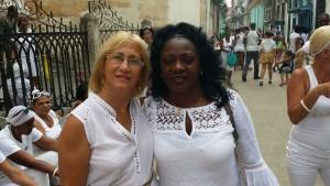 Las Damas de Blanco marchan todos los domingos para pedir por la liberación de los presos políticos. (PanAm Post)