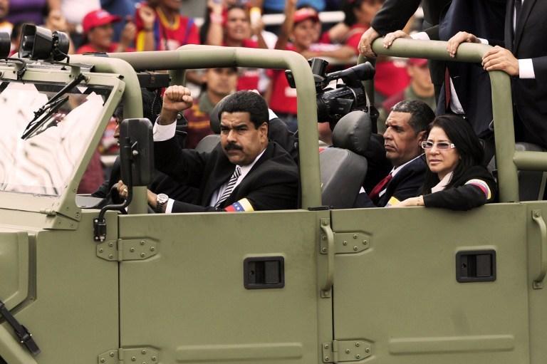 """Con sus constantes ataques a los opositores, basándose en supuestas """"conspiraciones"""" Maduro ha consolidado una dictadura en Venezuela (Flickr)"""