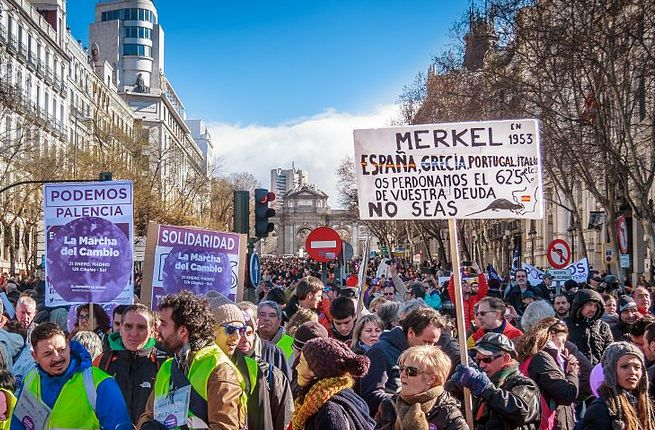 Marcha del cambio Podemos