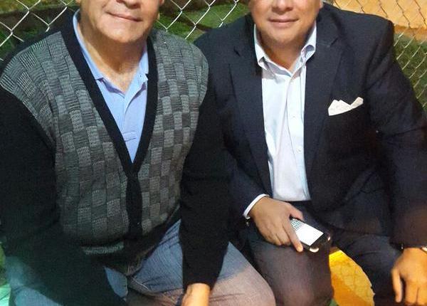 Raúl Isaías Baduel y Omar Mora Tosta