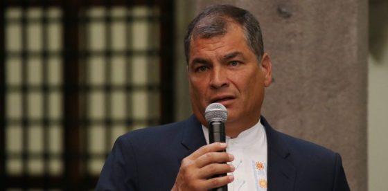 Correa abandona partido político que fundó tras fracaso en destronar a Lenín Moreno