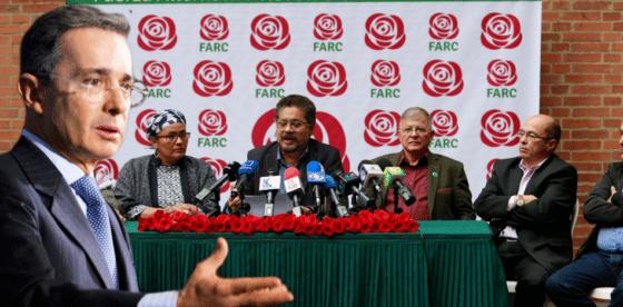 FARC acusa a partido de Uribe de estar detrás de ataques a su campaña política en Colombia