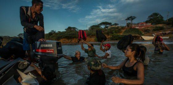 "Balseros venezolanos, un ""logro"" del chavismo que no para de crecer"