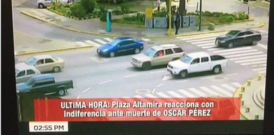 Indignante: televisión estatal venezolana se burla de masacre en la que se ejecutó a Óscar Pérez